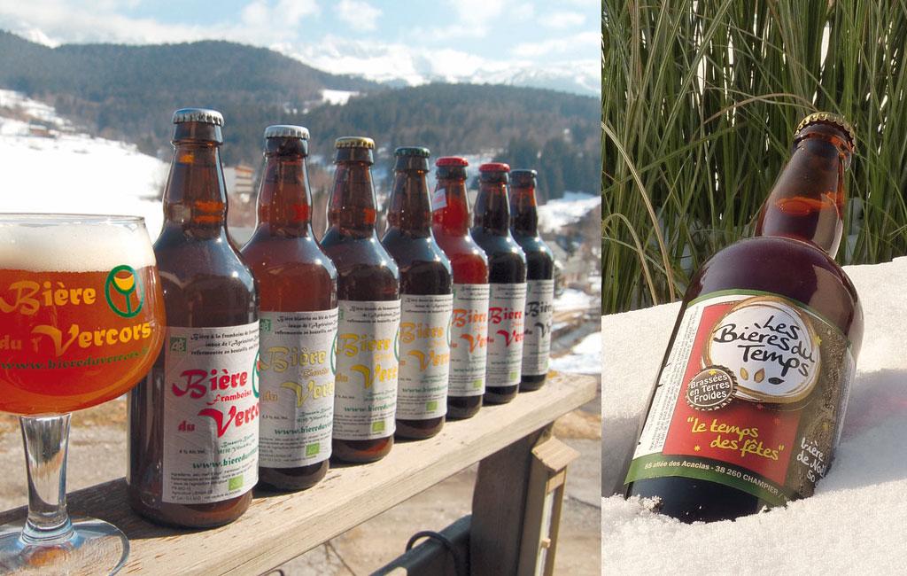 Les bières du Vercors et les bières du temps