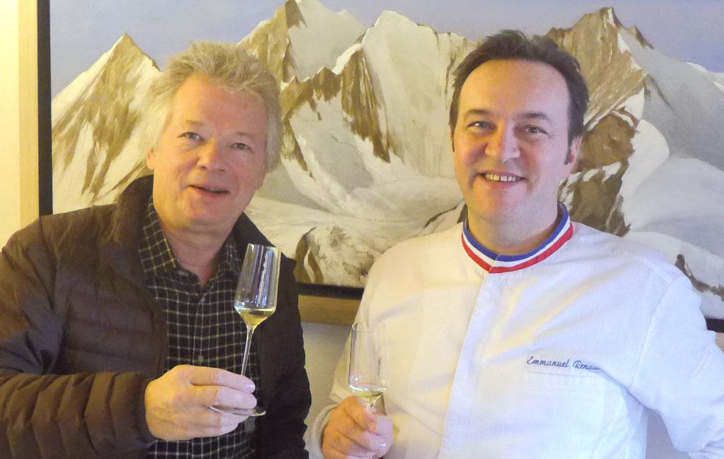 Gilles Pudlowski et Emmanuel Renaut