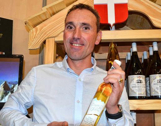Pascal Perceval et son vin des glaces