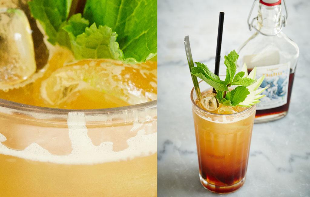 Cocktail Dahu Cooler - Liqueur du Dahu par Johanny Falvo