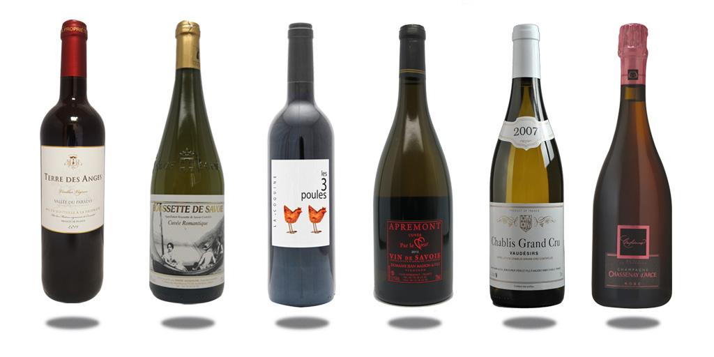 6 vins de Saint Valentin