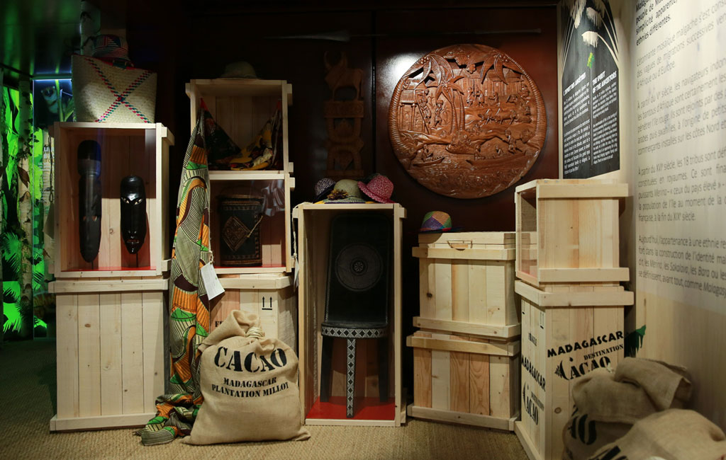 Exposition Madagascar - Cité du Chocolat Valrhona