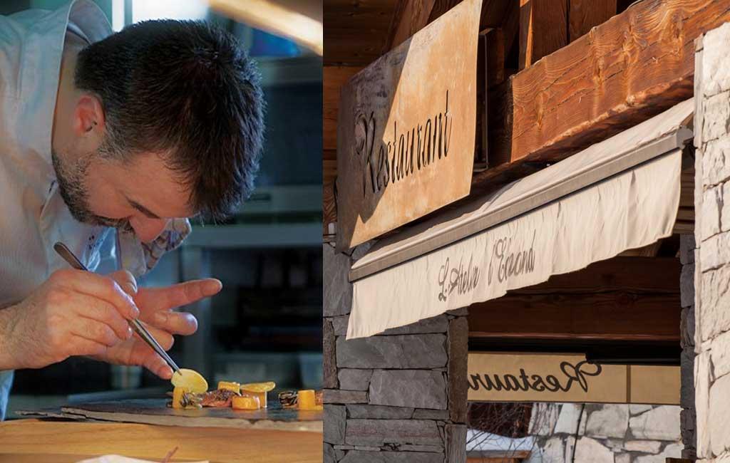 Benoît Vidal, restaurant l'Atelier d'Edmond à Val d'Isère