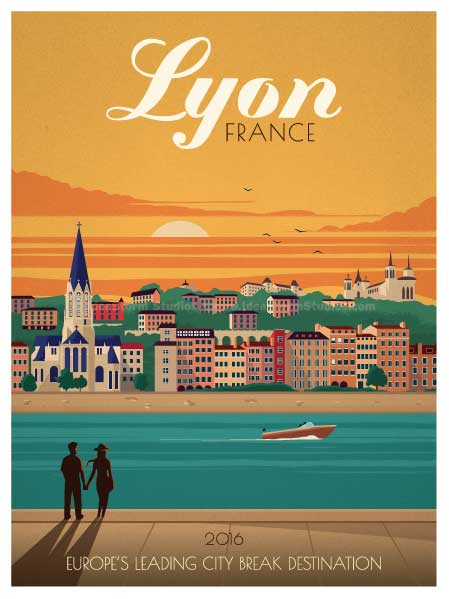 Lyon meilleure destination week-end d'Europe