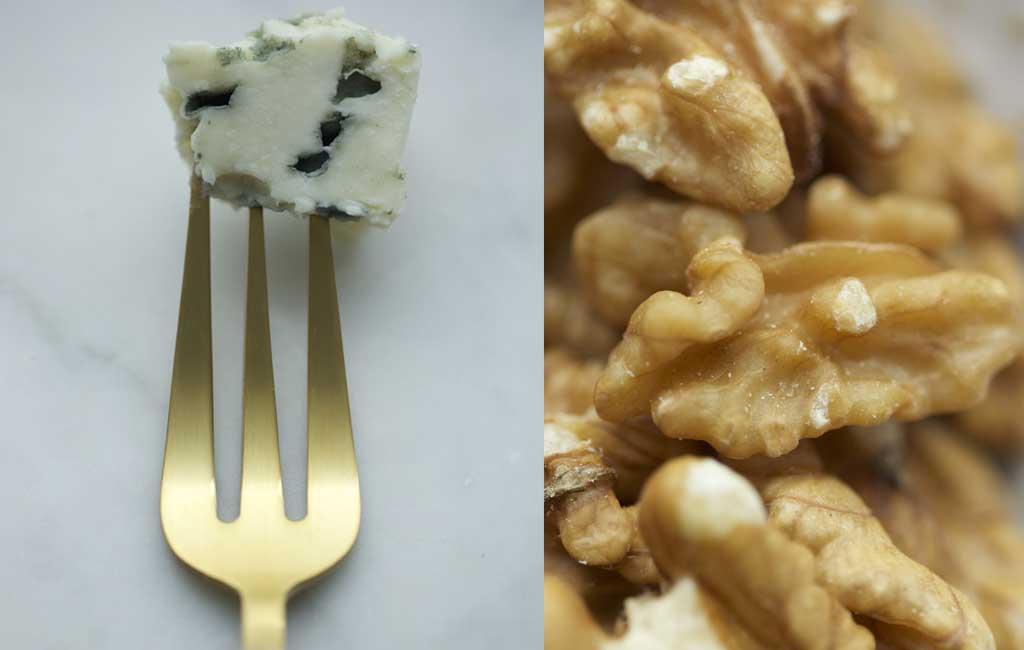 madeleine roquefort et noix christophe michalak