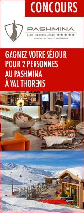 concours pashmina val thorens