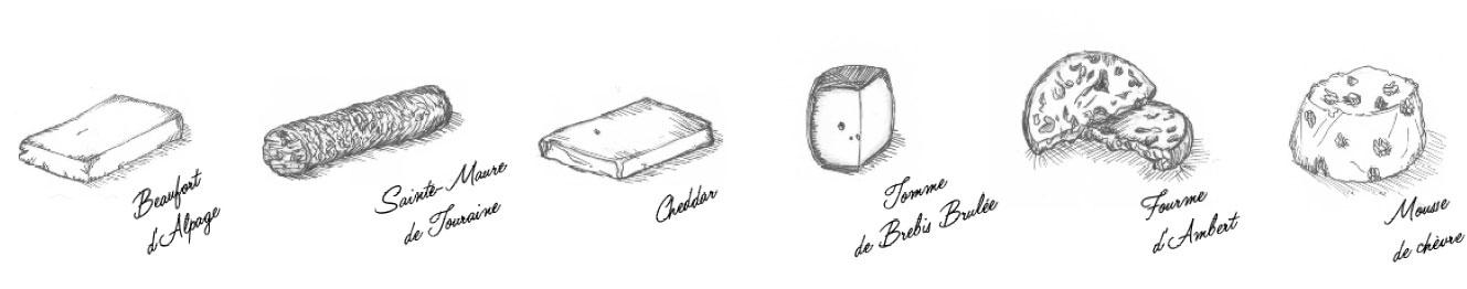 la bûche de Noël by tentation fromage