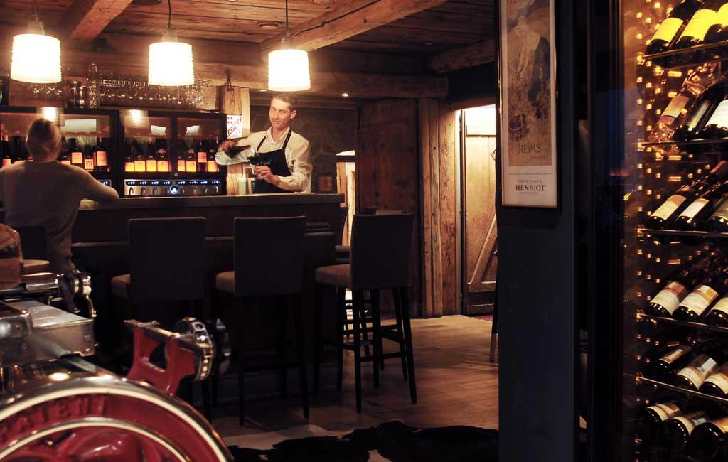 cave restaurant le 1888 Sainte Foy