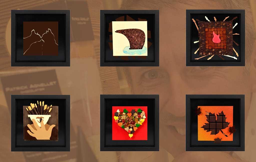 patrick agnellet tableaux en chocolat annecy