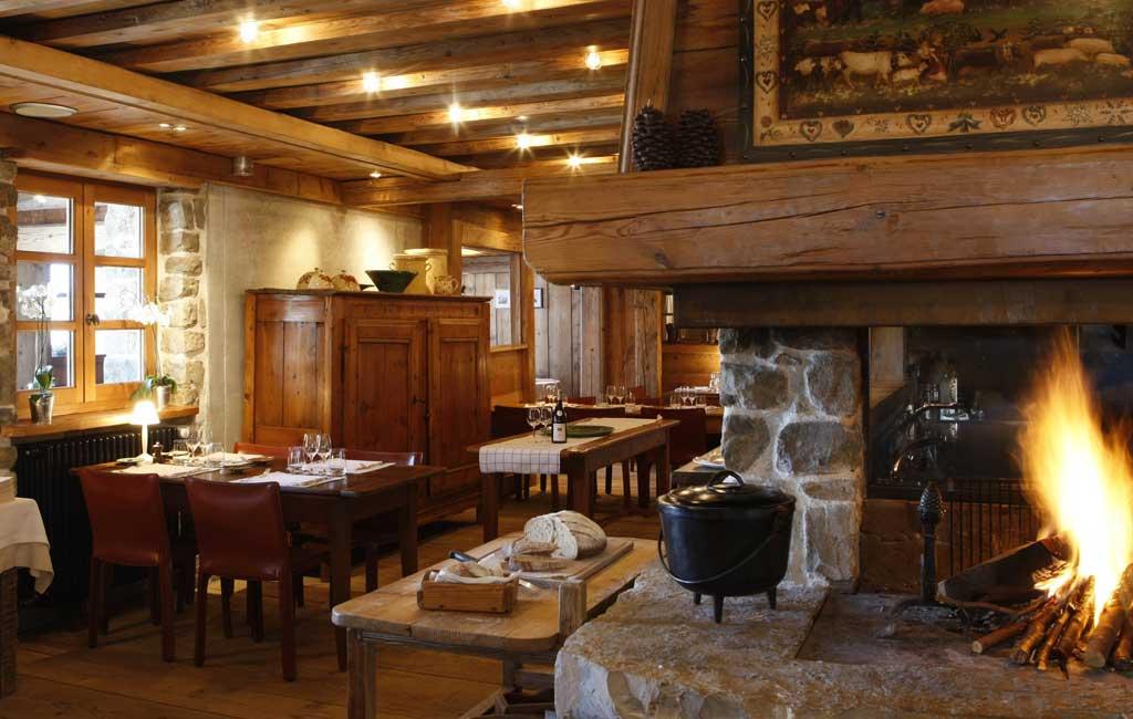 restaurant Les servages d'armelle aux Carroz