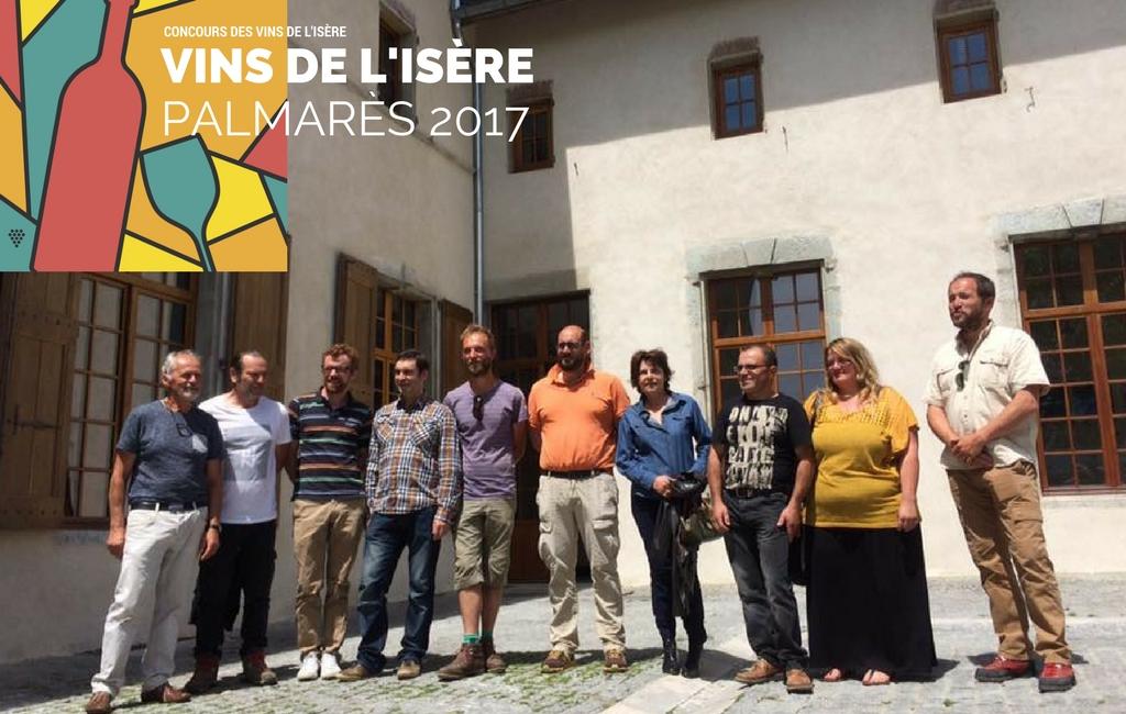 Concours des vins de l'Isère 2017
