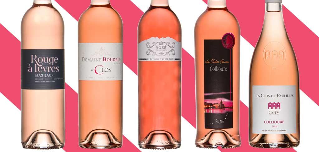 vins rosés roussillon 2017