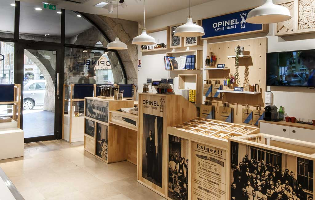 boutique opinel Annecy