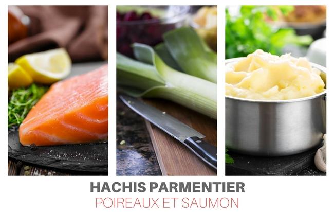 recette hachis parmentier saumon poireaux