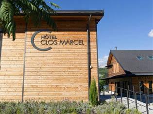 Entrée du Clos Marcel