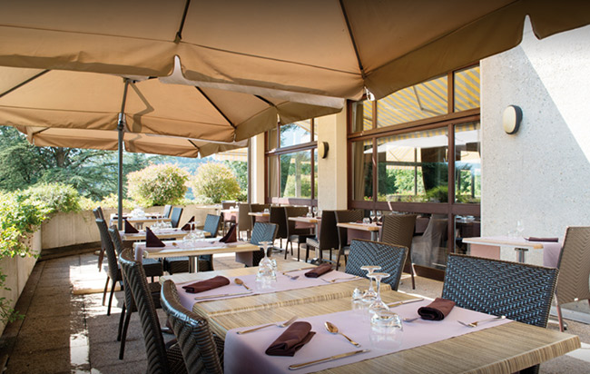 Villa Marlioz-restaurant