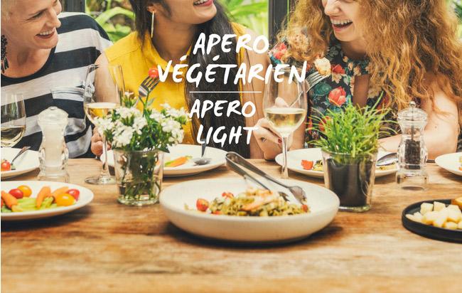 L'apéro végétarien en 6 recettes !