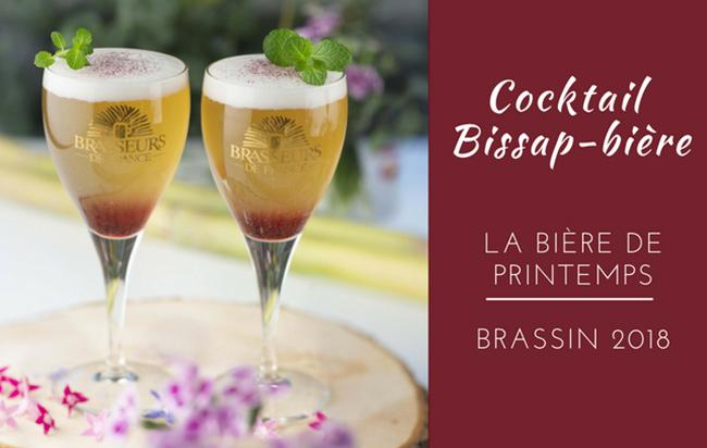 Bière de printemps : recette du cocktail bissap-bière