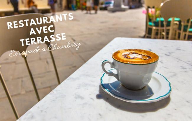 restaurants avec terrasse à Chambéry