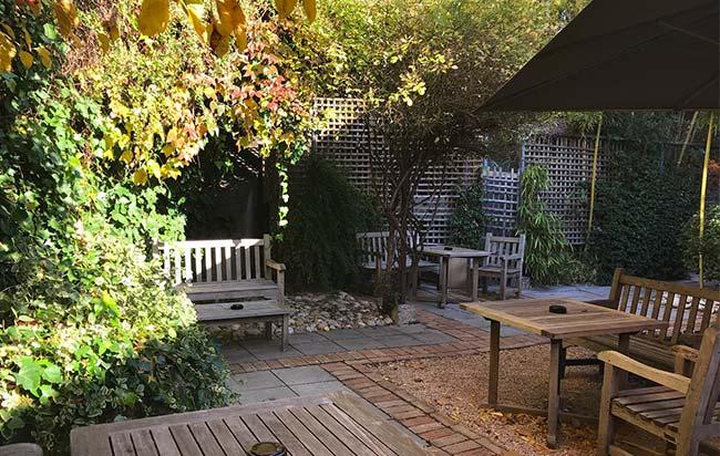 jardin loges