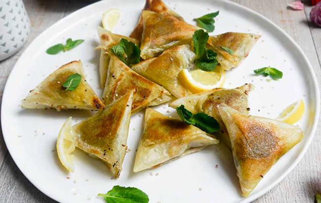 Samoussa courgette et chèvre - Recette exquise pour un apéro facile !