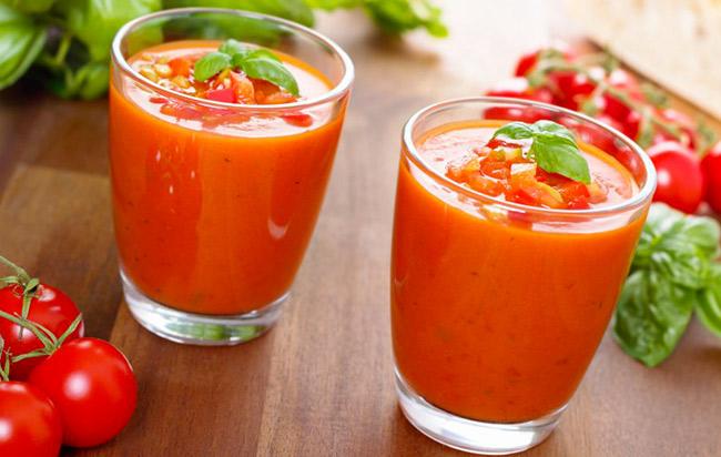 verrines apero tomate