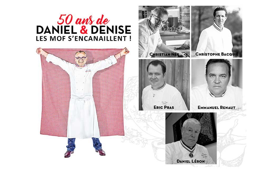 50 ans du bouchon lyonnais Daniel & Denise