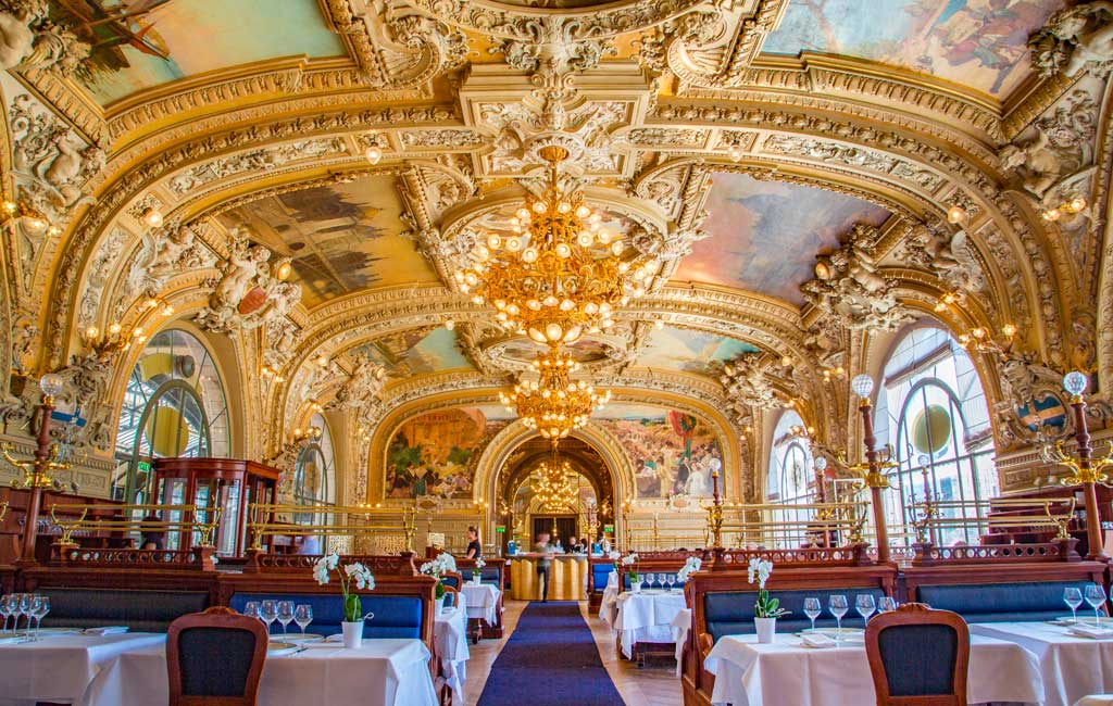 restaurant le train bleu, Paris