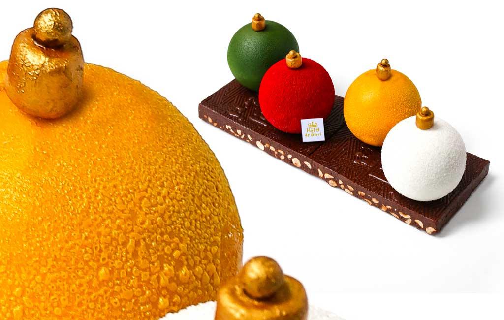 Bûche de Noël 2018 Café du Berri