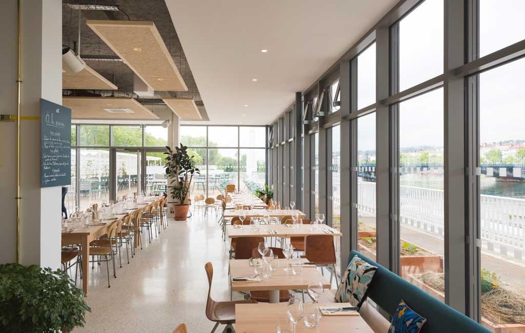 restaurant à la piscine Lyon