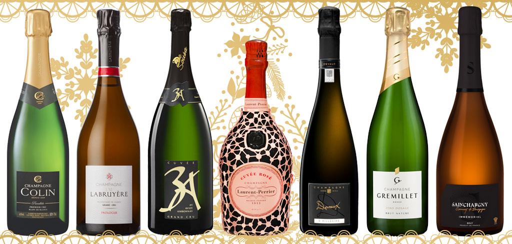 sélection champagne Noël 2018 magazine Exquis