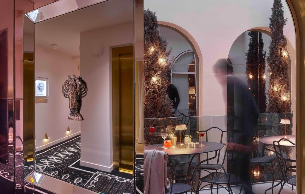 Hôtel 9 confidentiel Paris par Phiippe Starck
