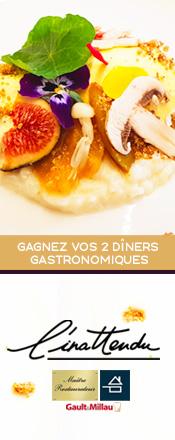concours restaurant l'inattendu / magazine Exquis