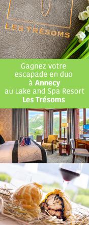 Concours magazine Exquis Les Trésoms Annecy
