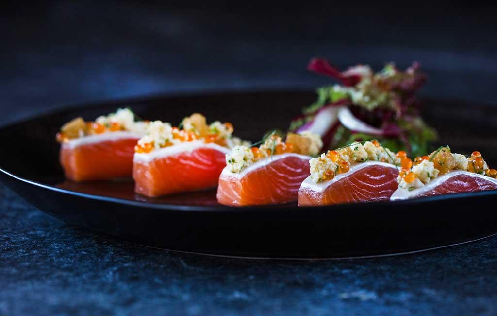 recette truite saumonée restaurant Prima
