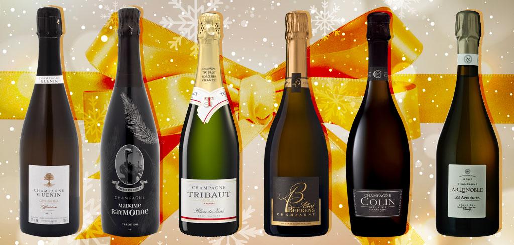 sélection champagne Noël 2019 magazine Exquis