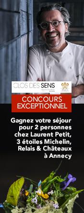 concours Clos des Sens Laurent Petit Magazine Exquis Noël 2019