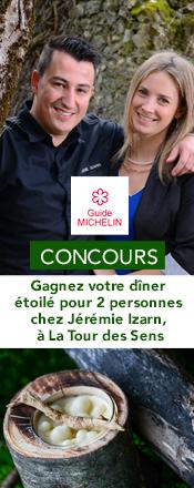 concours magazine exquis Tour des Sens Jérémie Izarn