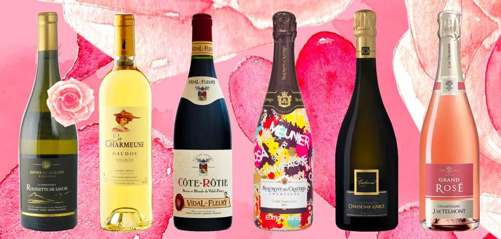 6 vins saint-valentin 2020