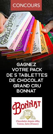 concours magazine exquis chocolats Bonnat
