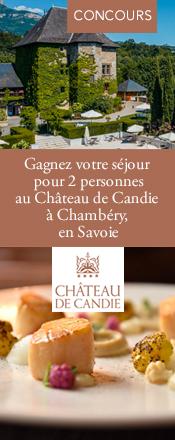 Concours magazine Exquis Château de Candie