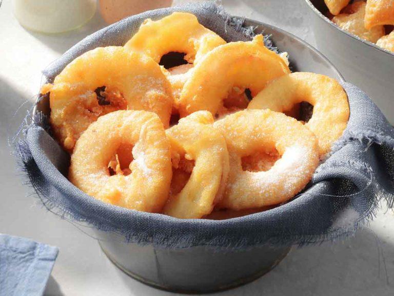 La recette des beignets aux pommes maison