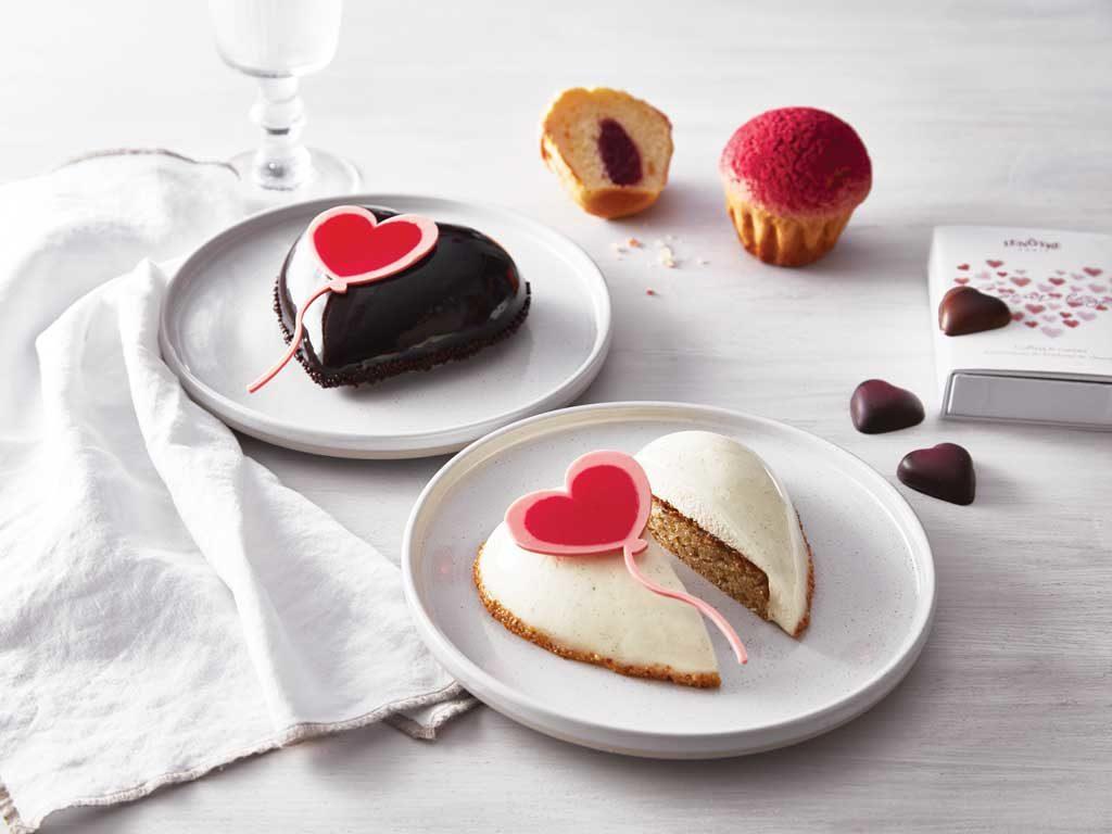 entremets coeur saint valentin