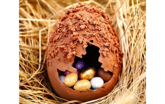 L'oeuf de Pâques Perlin Tatin
