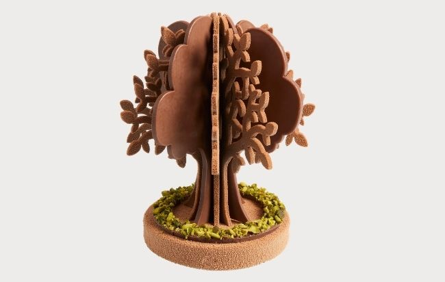 L'arbre en chocolat vegan - LENÔTRE