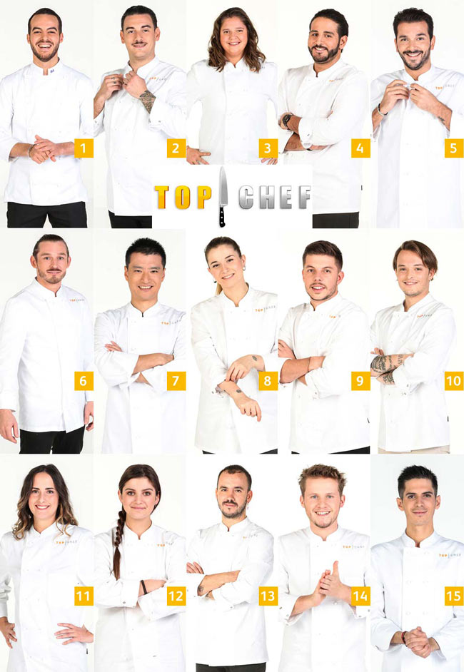 candidats top chef 2021