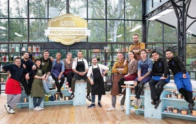 Le meilleur pâtissier les professionnels saison 4 les candidats