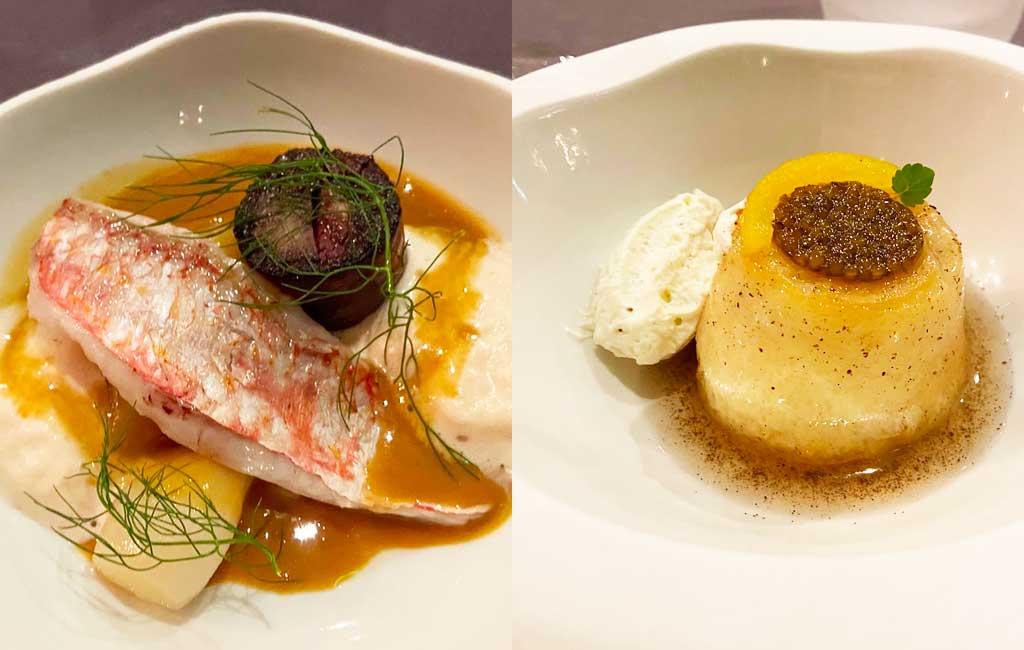 la cuisine de Laurent Lemal au restaurant La Balette à Collioure