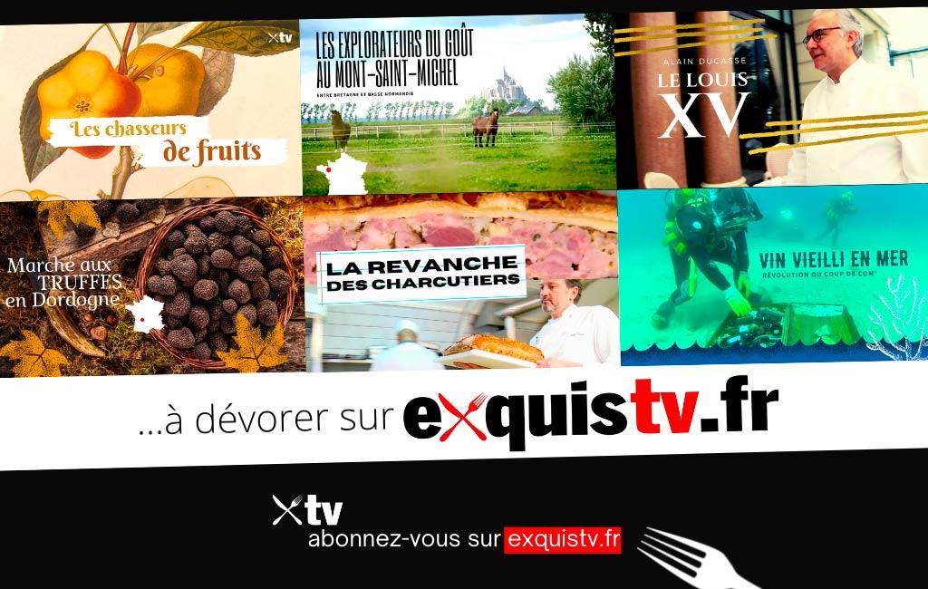 à voir sur ExquisTV.fr