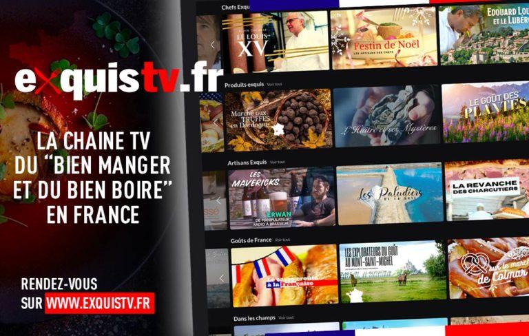 Lancement de la chaine ExquisTV.fr